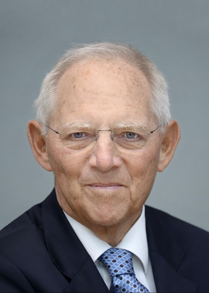 Wolfgang Schäuble (c) Deutscher Bundestag/Achim Melde